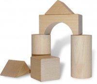 klocki drewniane dla dzieci